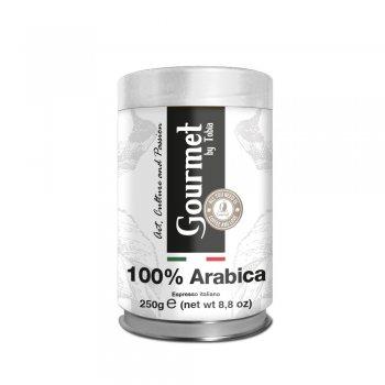 100% Arabica macinato in barattolo