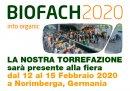 BIOFACH 2020 – Salone Leader Mondiale degli Alimenti Biologici